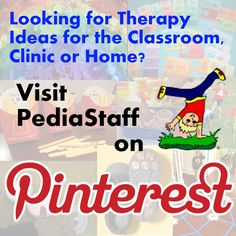 PediaStaff Pinterest Pinboard for special needs and learning challenges.