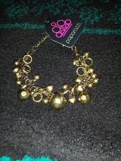 Gold latch bracelet $5