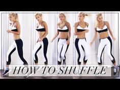 HOW TO SHUFFLE DANCE | Evelina - YouTube
