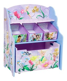 Periwinkle Tinkerbell Bin Organizer | Daily deals for moms, babies and kids