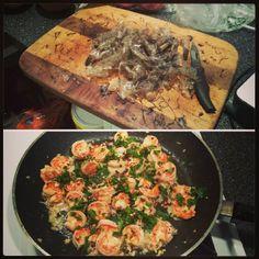 @dhaval718 - #wholelifechallenge #wlc #shrimp #wegmans #deveiningsucks #beforeandafter #eatclean #realmencook #chefbrown #chefpolkadot