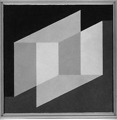 Josef Albers, Indicating Solids, 1949