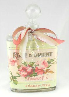 Orient Rose Bottle Nightlight