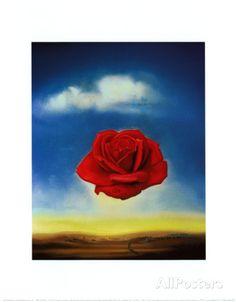 Rose Meditative, c.1958 Prints by Salvador Dalí - AllPosters.ca