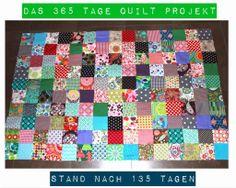 Das 365 Tage Quilt Projekt Zauberpalme.blogspot.com