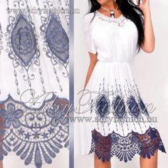 1ade0b1cb1 Olasz elegáns hímzett csipkés női ruha - NedyN , Warp Zone , Amnesia  webáruház - Női ruha webáruház -Női ruha webshop