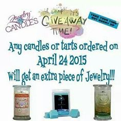 Get yours at www.jewelryincandles.com/store/sunshine81588