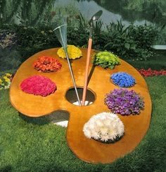 Garden palette... love