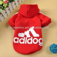 Small pet Puppy Dog Clothes Fleece Hoodie Sweater Sport Jersey Pet clothes New style Fleece Hoodie, Sweater Hoodie, Christmas Dog, Christmas Sweaters, Small Pigs, Pet Pigs, Dog Wear, Animal Care, Pet Puppy