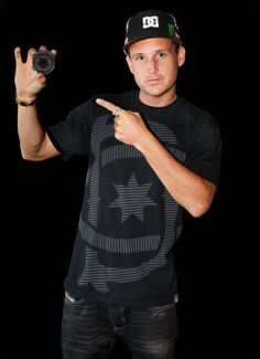 Rob Dyrdek: i'm in love with him. He is such a down to earth guy.