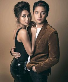 KathNiel on the cover of YES! 100 Most Beautiful Stars Wedding Couple Poses, Couple Posing, Kathryn Bernardo Outfits, Daniel Johns, Daniel Padilla, John Ford, Hot Couples, Queen, Beautiful Celebrities