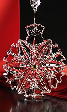 Waterford Snowflake Wishes Ornament 2014  NEW