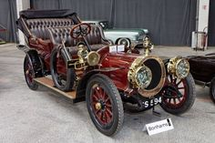 On 21st December 1911, a French anarchist gang made history by using the first getaway car. The car, a 1910 Delaunay-Belleville luxury limousine (pictured), registration number 783-X-3, was stolen on 14th December 1911 by four members of the gang who changed the plate to 668-X-8.