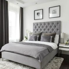 Main bedroom | Be inspired by this stunning semi-detached house in Nottingham | housetohome.co.uk
