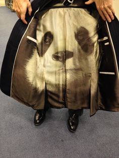 Designed by A Suit That Fits Ireland - Custom Panda Lining