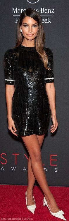 Lily Aldridge   Louis Vuitton   The House of Beccaria# ~Latest Luxurious Women's Fashion - Haute Couture - dresses, jackets. bags, jewellery, shoes etc