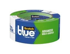 3M 2093EL-2E ScotchBlue Painter's Tape Advanced Multi-Surface, 2-Inch by 60-Yard, 1-Pack by 3M. $9.55. Amazon.com Paint lightly textured surfaces with ease and precision using ScotchBlue Advanced Multi-Surface painter's tape. Proprietary Edge-Lock Protector technology blocks paint and yields remarkably sharp lines--great for painting trim or doing other precise work. UV protection keeps the tape from breaking down when exposed to direct sunlight. This...