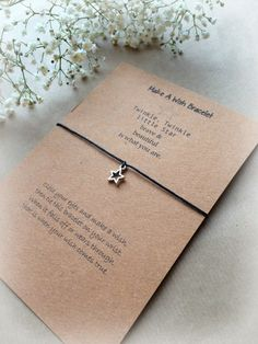 Make A Wish Bracelet / Charm Bracelet  Twinkle by ThePersnicketyCo