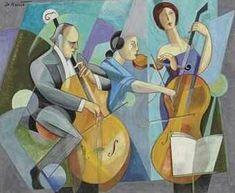 Canal~Art  « Le trio » Tableau de Bela de Kristo