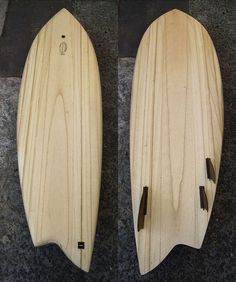 I don't really get these asymmetrical boards myself, but I guess I'm too old school for that. Fish Surfboard, Wooden Surfboard, Surf House, Surf Design, Old School, Woodworking Projects, Diy And Crafts, Shapes, Surf Boards