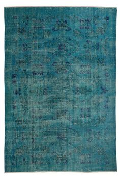 Custom Rug  Overdyed Dining Room Rug Recolored by CarpetRugStore