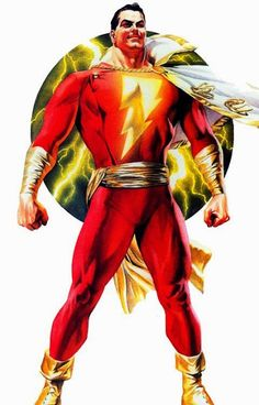 Captain Marvel. Alex Ross