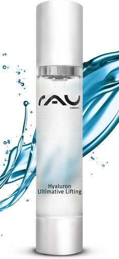 Effektives Anti-Aging Hyaluronsäure Gel mit Soforteffekt bekämpft Falten und Krähenfüße - sehr gute Verträglichkeit, auch für empfindliche Haut geeignet - OHNE Parfüm, Farbstoffe, Parabene, PEGs, Mineral- und Silikonöl http://www.rau-cosmetics.de/wirkstoff-info/butylene-glycol-/rau-hyaluron-ultimative-lifting-50-ml-hyaluronaeure-konzentrat-gel #antiaging #hyaluron #hautpflege #cosmetics #skincare