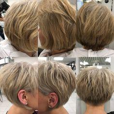 Von warm auf kühl - #blondme #coiffurecitylangenthal #unschlaghaarschön #schwarzkopfproch #meches #blondhair #shorthair Hair Cuts, Make Up, Hairstyle, Hair Cut Ideas, Haircuts, Hair Cut, Hairstyles, Beauty Makeup, Makeup