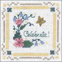 The Victoria Sampler - Beyond Cross Stitch Kits Level 1 - #10 Plait Stitch