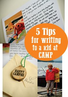 5 Tips for writing a Letter to Camp - How to write a letter to a kid at Camp - Funny Letters from camp #SummerCamp #CampLetter