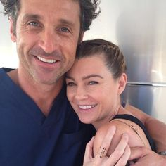 Ellen Pompeo Accused Of Getting Patrick Dempsey Fired On 'Grey's Anatomy' Due To Affair: Evidence Points To Otherwise Greys Anatomy Derek, Greys Anatomy Funny, Greys Anatomy Cast, Grey Anatomy Quotes, Anatomy Humor, Grey Quotes, Derek Shepherd, Grey's Anatomy Doctors, Ellen Pompeo Patrick Dempsey