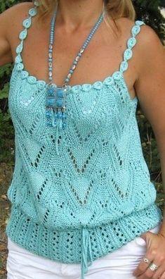 Fabulous Crochet a Little Black Crochet Dress Ideas. Georgeous Crochet a Little Black Crochet Dress Ideas. Black Crochet Dress, Crochet Blouse, Crochet Bikini, Débardeurs Au Crochet, Pull Crochet, Crochet Tops, Lace Top Outfits, Summer Dress Outfits, Top Turquesa
