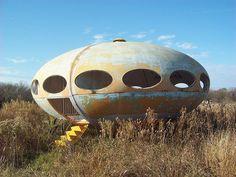The Futuro House | Rockwall, Texas