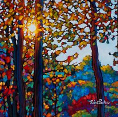 Afteŕnnoon light mont trèblant - Giclee on Paper Limited Edition Print by Tim Packer