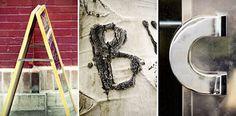 Capture the alphabet through photos
