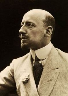 Gabriele D'Annunzio (12 March 1863 – 1 March 1938), Prince of Montenevoso, sometimes spelled d'Annunzio, was an Italian writer, poet, journalist, playwright and soldier during World War I. Picture dates 1910s.