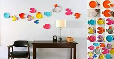 Fishes on wall €|<