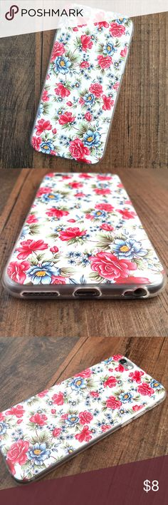 Blooming Flowers iPhone 6 or 6 plus case BRAND NEW in manufacturer's packaging!!   This case features: ­•Unique design printed on a durable TPU case ­•Printed in UV LED so that the ink is durable and won't come off ­ •Enhances the iPhone's slim profile and doesn't add bulk to your phone  Check out my closet for all of my other accessories, and thanks for looking! Accessories Phone Cases