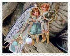 "Image of ""Nostalgic kids"" Γούρια 2015 Lucky Charm, Princess Zelda, Charmed, Christmas Ideas, Kids, Fictional Characters, Image, Art, Young Children"