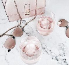 Imagen de pink, sunglasses, and bag