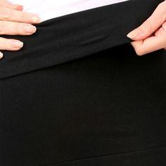 05bd9b27130a4 Underworks Maternity Comfort Crop - Black | Pregnancy, Birth, Beyond ...