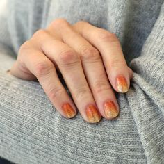 Spice Spice Baby $12.99 Pumpkin spice and everything nice! Get ready for fall in this sparkling orange ombre.