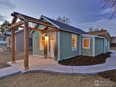 """This is a 546 sq. ft. Fort Collins Cottage that's for sale! Check out this """"tiny"""" but extraordinary home! Right in the heart of old town Ft Collins! Within walking distance of res…"""