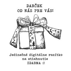 Originálne vianočné digitálne razítko exkluzívne pre čitateľky blogu Vintage Crafting NA STIAHNUTIE ZDARMA :)
