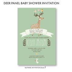 Printable Woodland Deer Gender Neutral Baby by LarissaKayDesigns