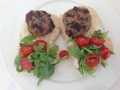 Joyce tells us to avoid puffy homemade burgers just press your thumb print in the centre of the patty before cooking it. I tried it and it works! From Farm To Table, Homemade Burgers, Thumb Prints, Summer Bbq, Steak, Centre, Beef, Cooking, Food