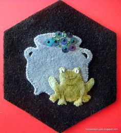 Stitching Society Toad