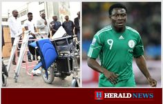 PRESS RELEASE OBAFEMI MARTINS DONATES 200 WHEEL CHAIRS, 3,240 CRUTCHES, OTHER HEALTH EQUIPMENT TO LASG …Gesture, Act of Selfless Service, Commitment To Humanity, Says Ambode Nigeria international Footballer, Obafemi Martins on Thursday donated health equipment worth several millions of naira to the Lagos State Government, saying it was part of his philanthropic gestures to give back to the soci   #MARTINS #NIGERIA INTERNATIONAL FOOTBALLER #OBAFEMI