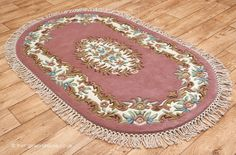 Main Colors, Colours, Pink Rugs, Oval Rugs, Types Of Rugs, Fringes, Wool Rug, Carpet, Ivory