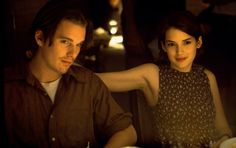 Troy Dyer (Ethan Hawke), Lelaina Pierce (Winona Ryder) ~ Reality Bites (1994) ~ Movie Stills ~ #90smovies #comedies #moviestills